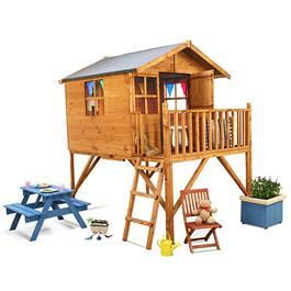 Mad Dash Lollipop Junior Tower Wooden Playhouse
