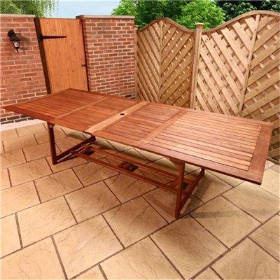BillyOh Rectangular Extending Garden Table