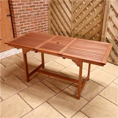 BillyOh 1.2-1.6m Rectangular Extending Garden Table