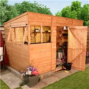 BillyOh Suffolk Premium Tongue and Groove Pent Shed