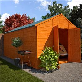 The Billyoh 12'x10' Windowless Greenkeeper 5000 Wooden Workshop from Garden Buildings Direct
