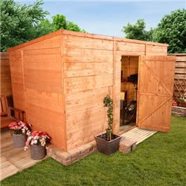 BillyOh 5000L Windowless Greenkeeper Premium Tongue and Groove Pent Shed 12' x 6'