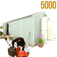 BillyOh 5000 Windowless Greenkeeper Workshop Premium Personnel Tongue and Groove Double Door
