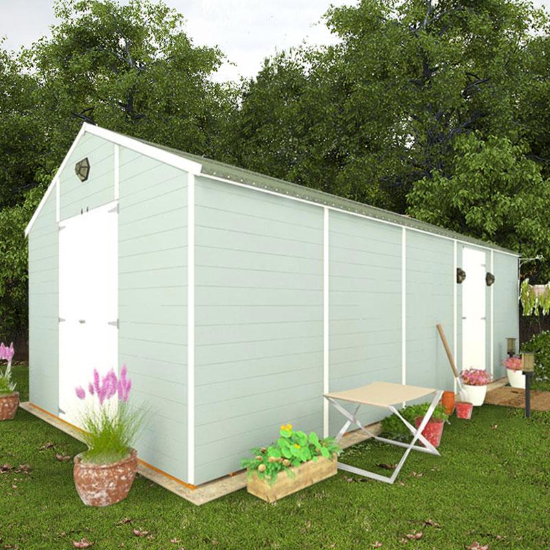 BillyOh 20 x 10 Windowless Greenkeeper Workshop Premium Personnel Tongue Groove Double Door 5000 Range