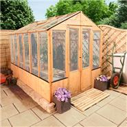 6 x 6 Lincoln Wooden Greenhouse