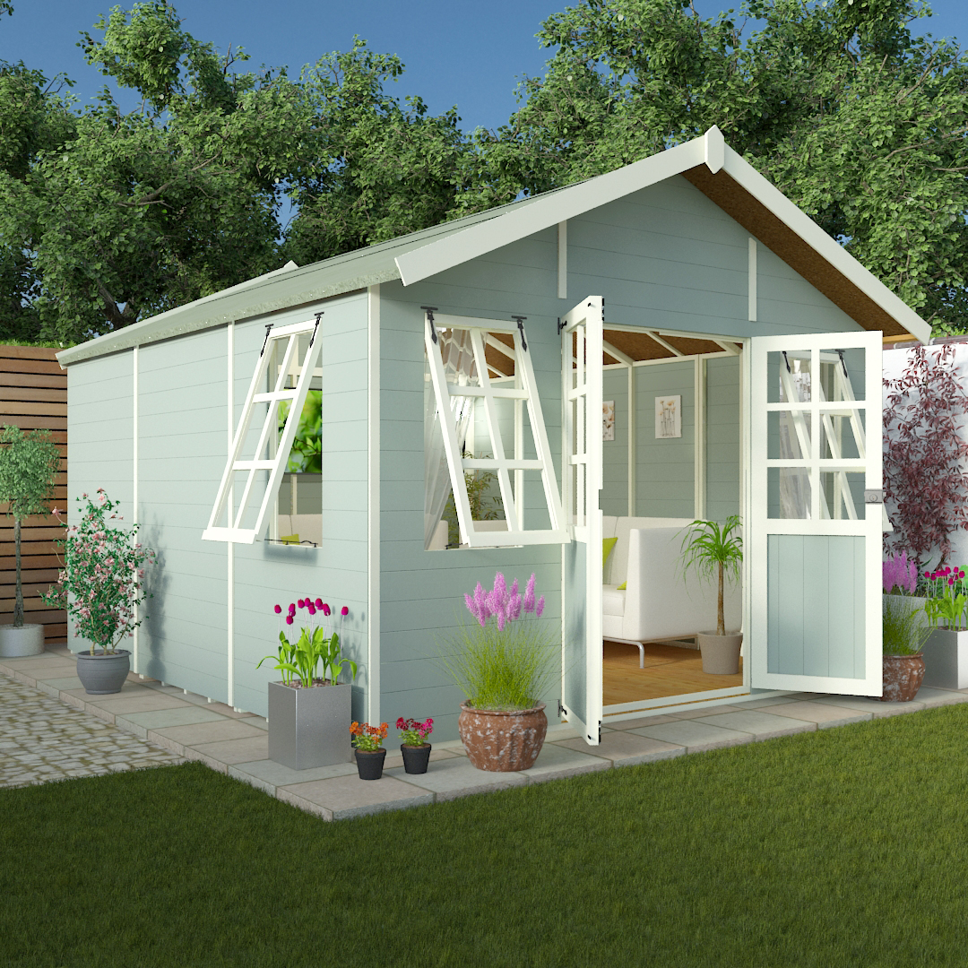 BillyOh 16 x 10 Philosophers Tongue and Groove Garden Summerhouse