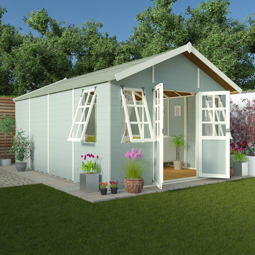 BillyOh 8 x 10 Philosophers Tongue and Groove Garden Summerhouse