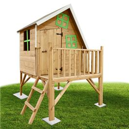 Mad Dash Crooked Cottage Tower Wooden Playhouse