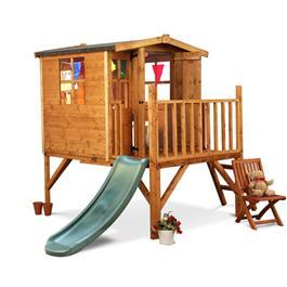 Mad Dash Bunny Tower Xtra Playhouse Including Slide