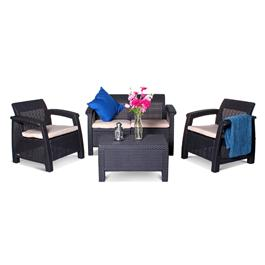 Anthracite Corfu Furniture Set