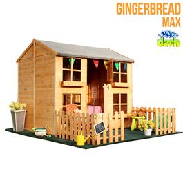 7 x 5 Gingerbread Max Playhouse