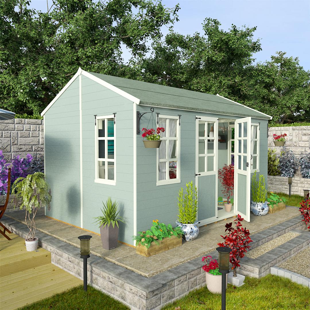BillyOh 12 x 8 Eden Summerhouse - Summer houses UK 5000 Range