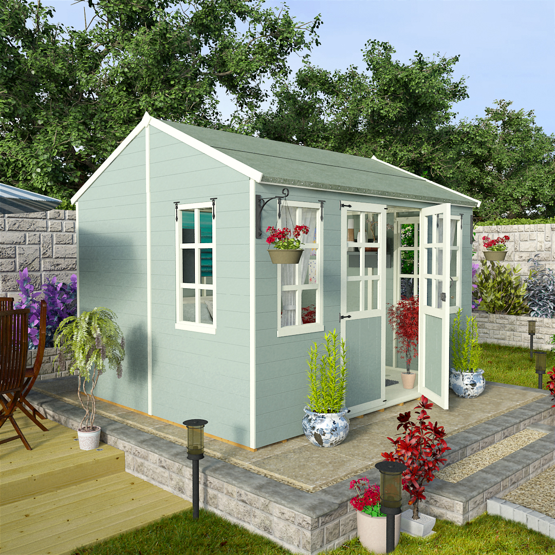 BillyOh 10 x 8 Eden Summer House 5000 Range