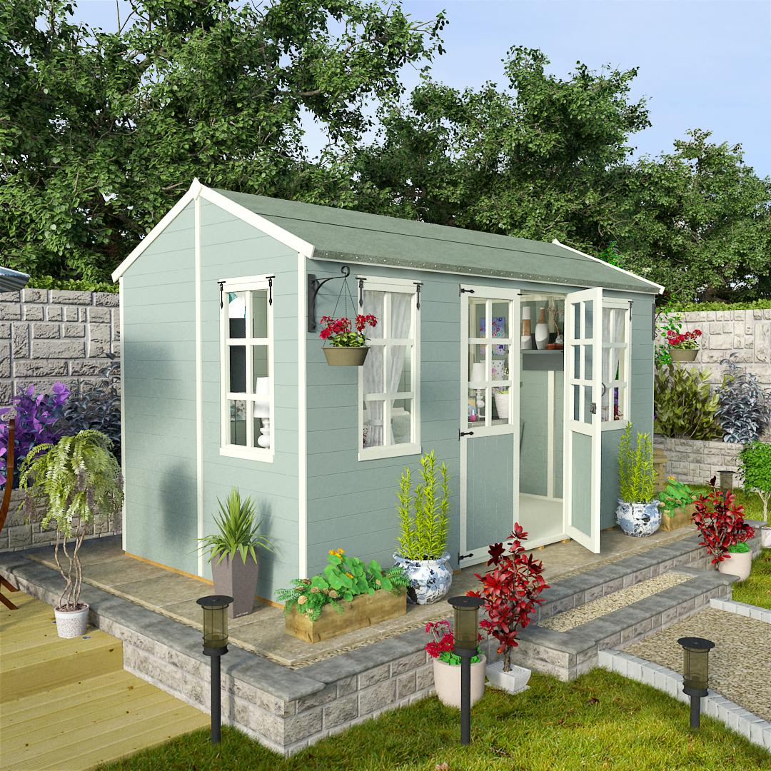 BillyOh 12 x 6 Eden Summer House - Wooden Summerhouses 5000 Range