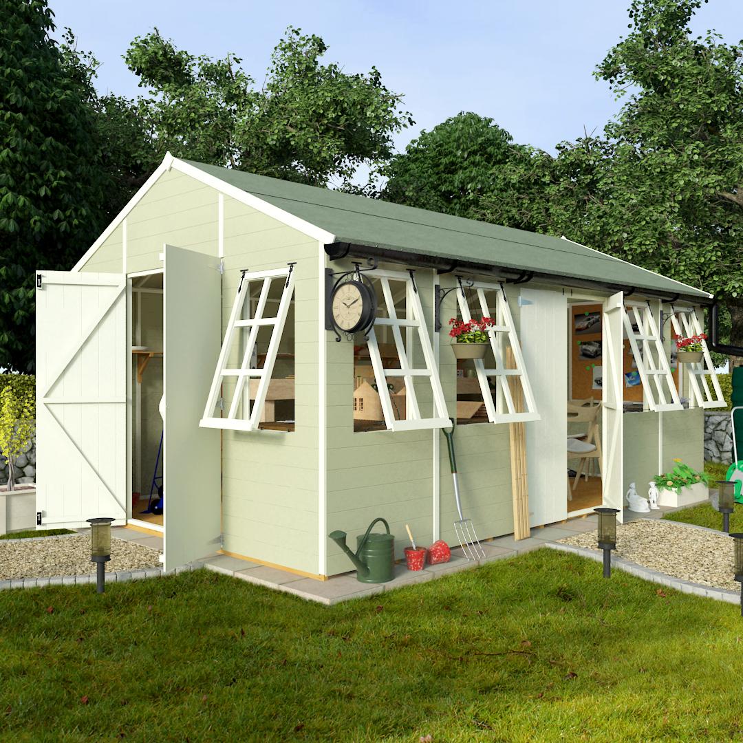Buy cheap garden shed workshop compare sheds garden for Best deals on garden sheds