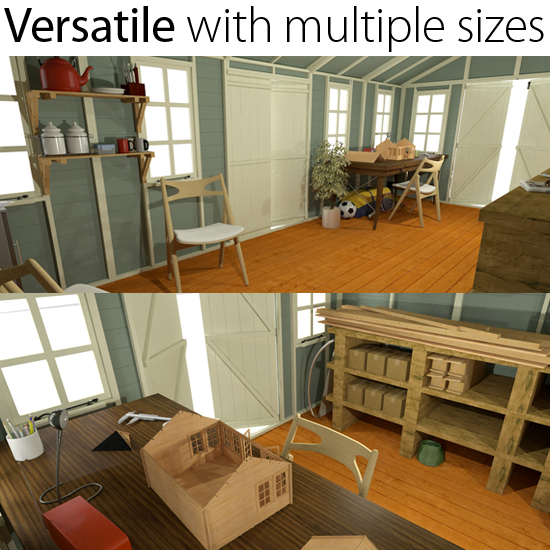 The space and size you need