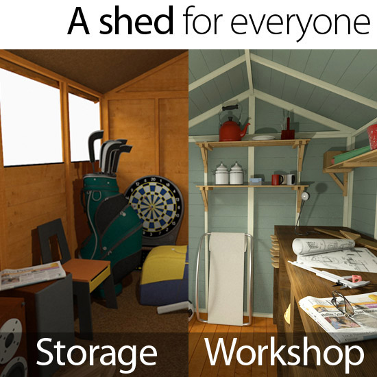 A BillyOh shed for everyone