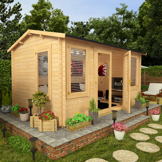 Billyoh Huntsman Log Cabin Log Cabin Summerhouses