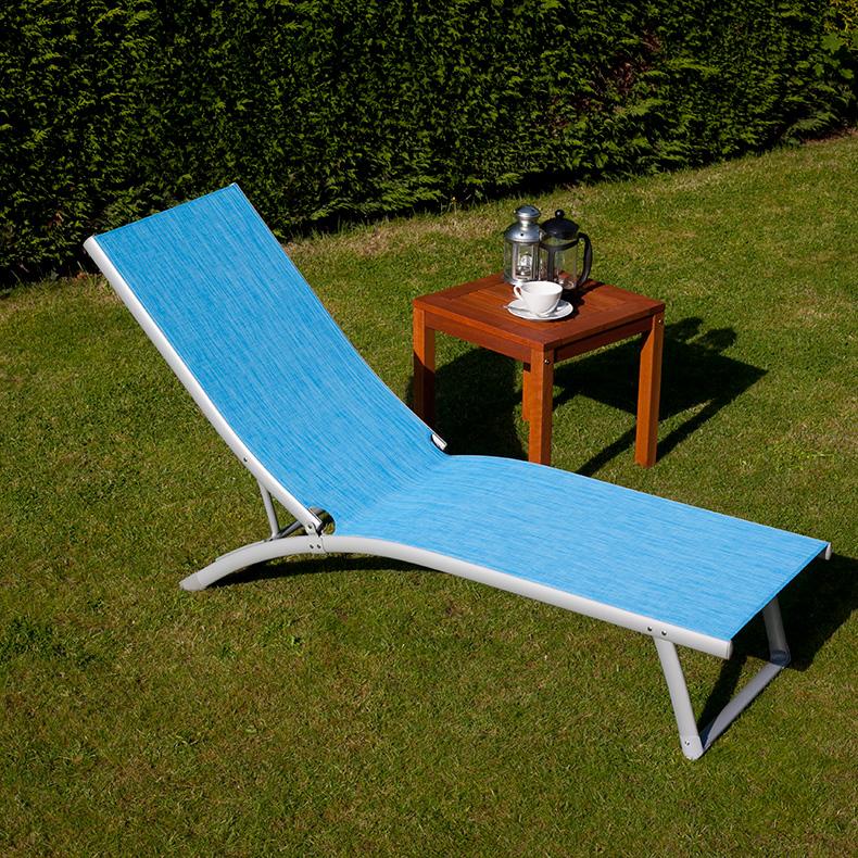 BillyOh Rio Blue Garden Sun Lounger