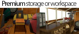 The Ideal Workspace or Storage