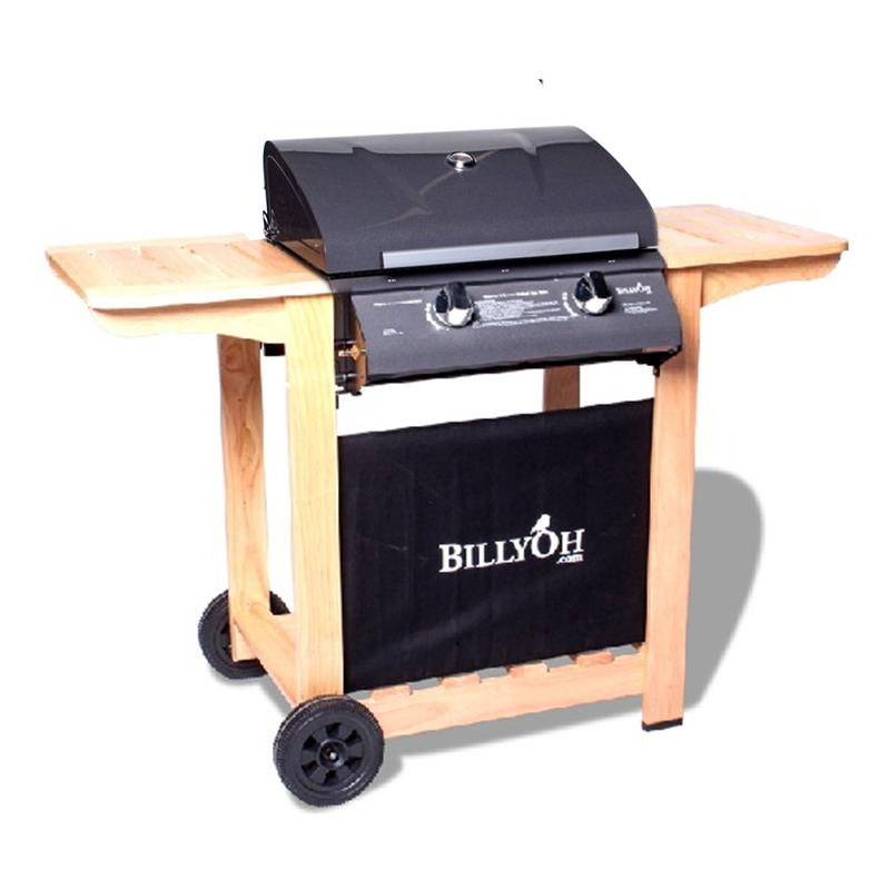 BillyOh Imperial 2 Burner Hooded Gas BBQ