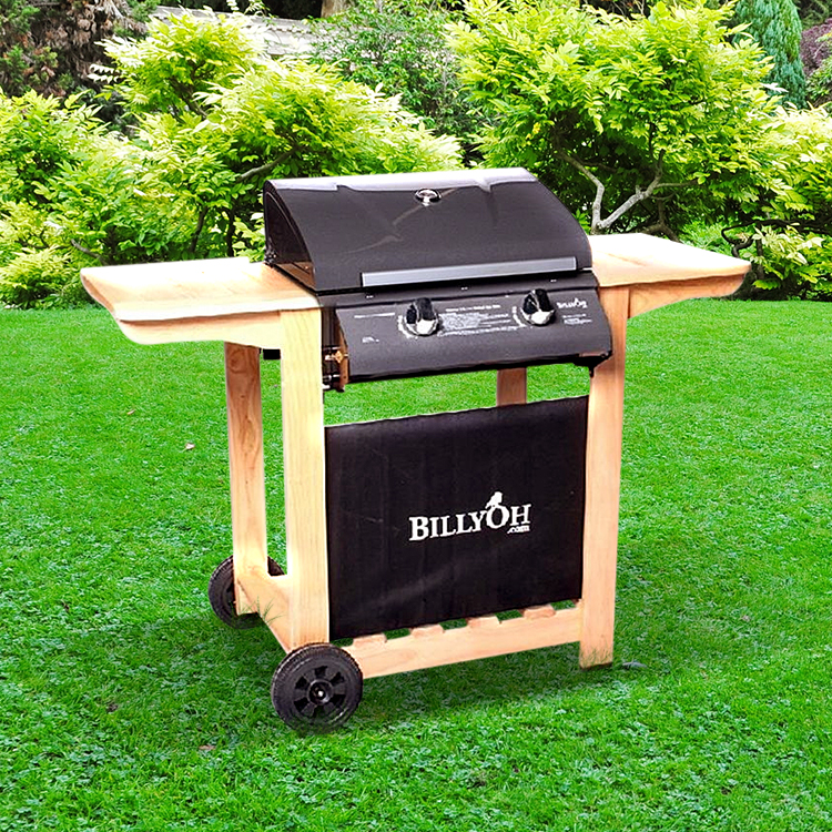 BillyOh 2 Burner Hooded Imperial Hooded Gas BBQ