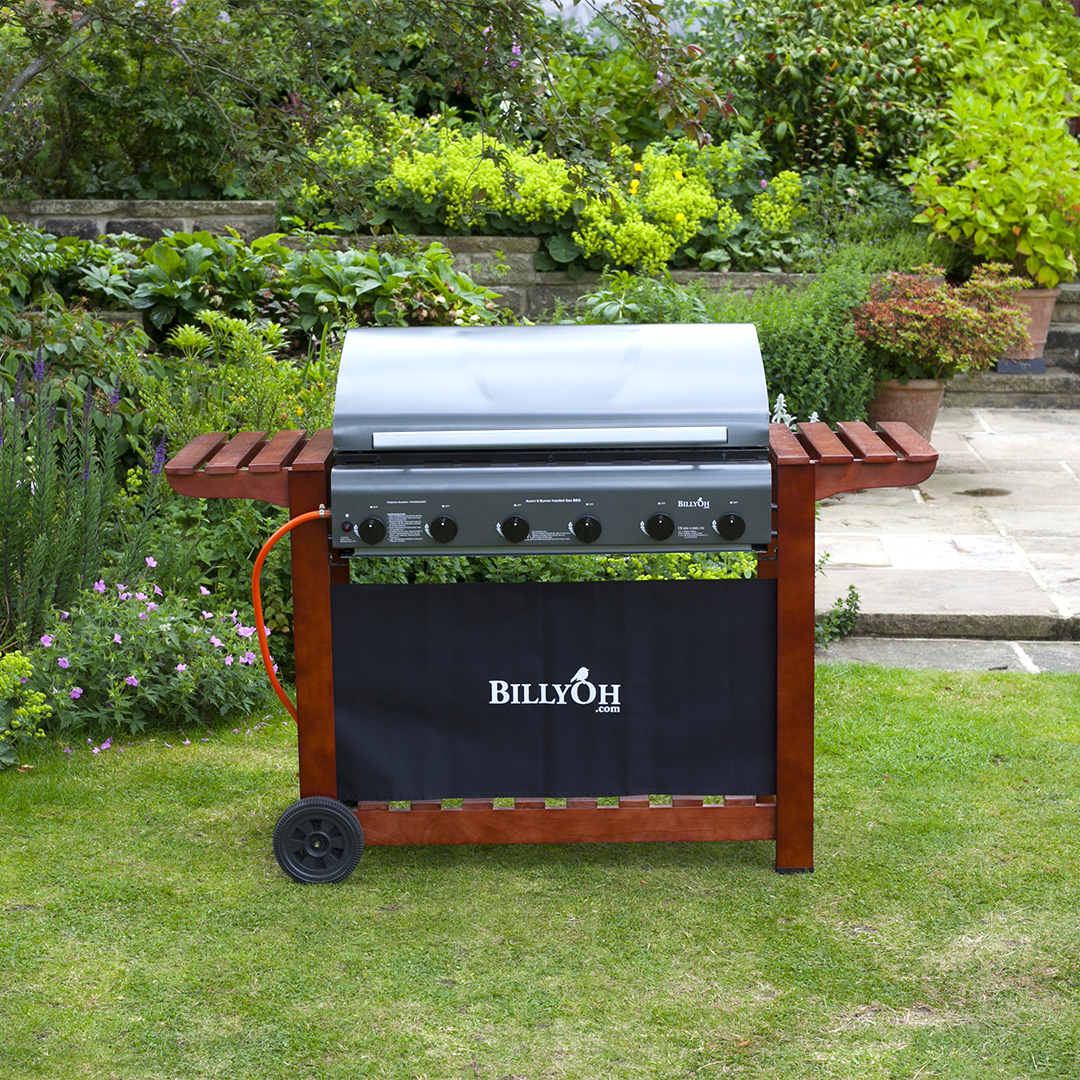 Click to view product details and reviews for Billyoh 6 Burner Hooded Acorn Hooded Gas Bbq.