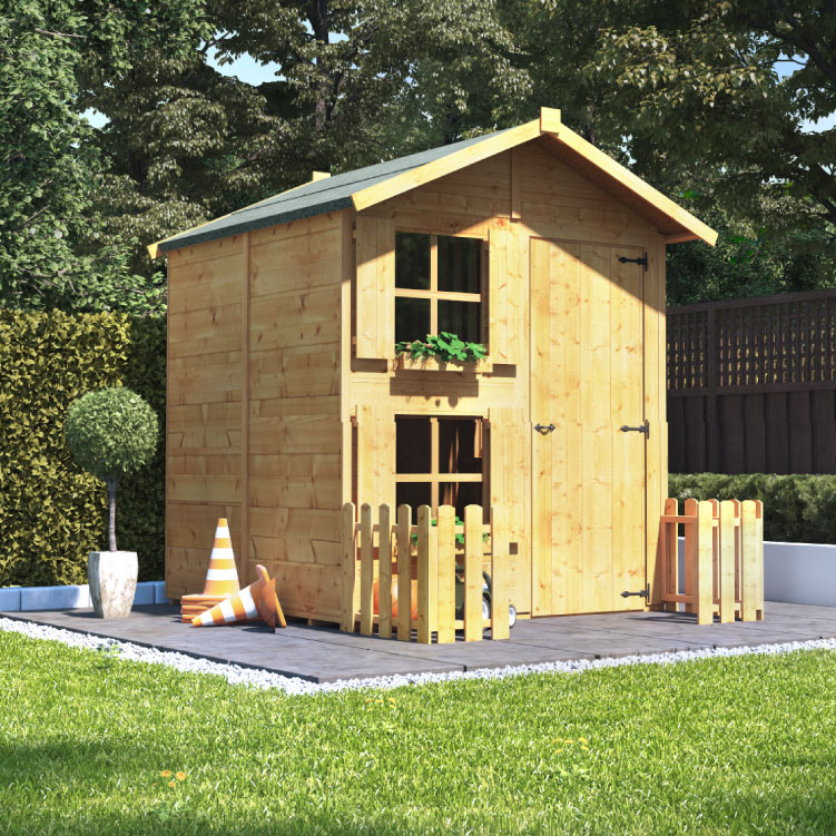 Mad Dash Playhouses -  Children's Playhouse 6'x5'