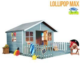 Mad Dash Childrens Playhouses - Lollipop Wooden Playhouse 6'x7'