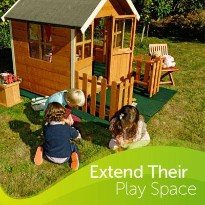 Extend their play space