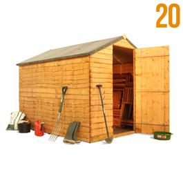 The BillyOh Super Saver Windowless Shed Range *Floor Included*