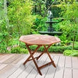 BillyOh Windsor Wooden Folding Octagonal Garden Table