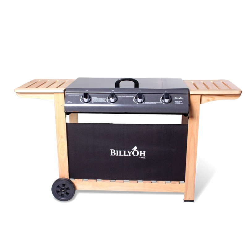 BillyOh Imperial Flat Bed 4 Burner Gas BBQ Barbecue