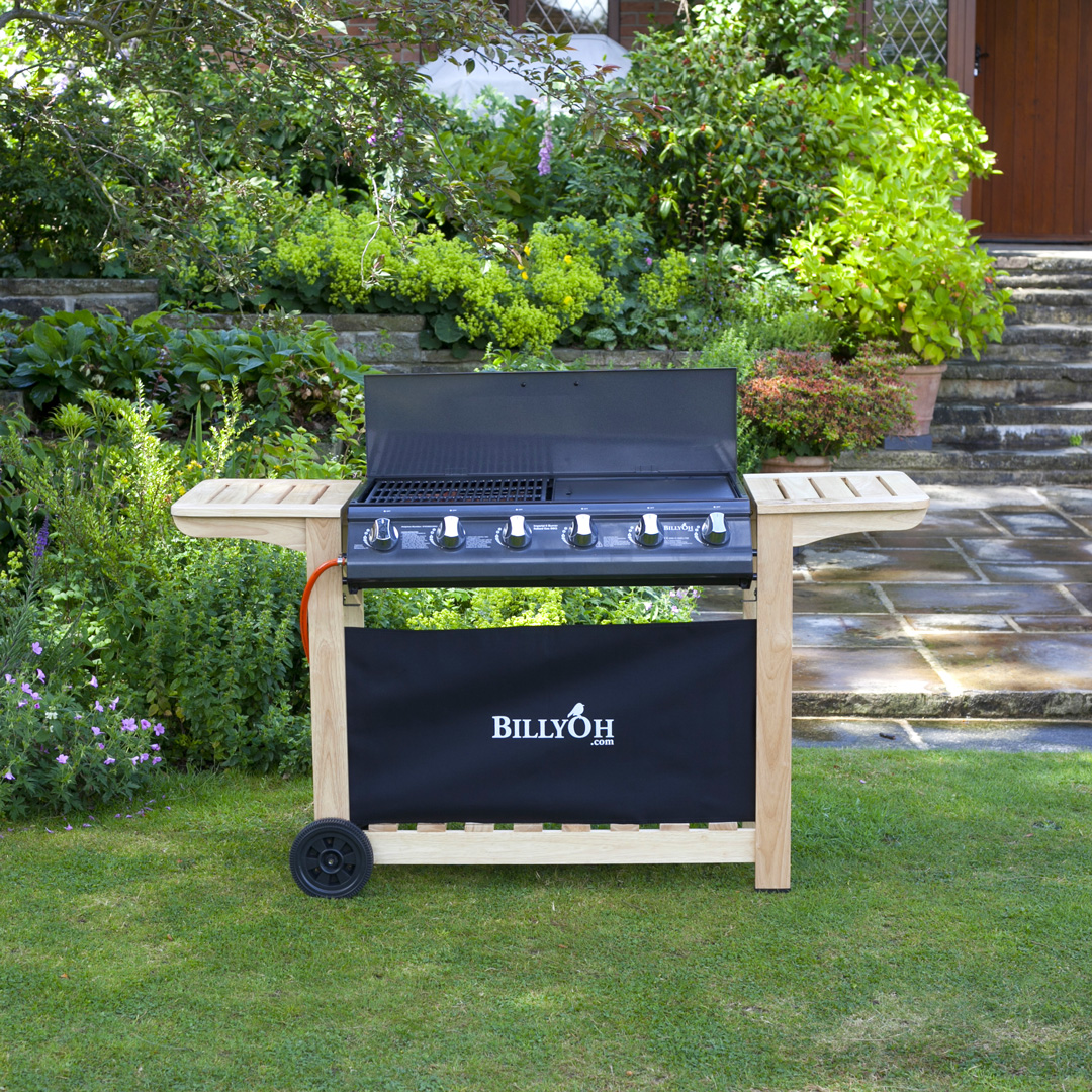 BillyOh Imperial 6 Burner Flat Bed BBQ