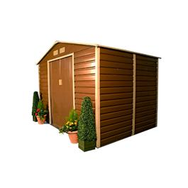BillyOh Evan Metal Shed Range Including Foundation Kit
