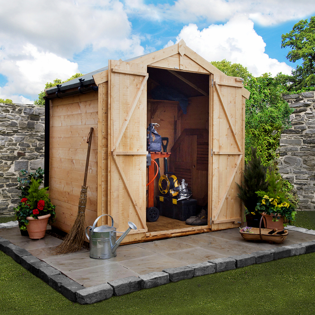 BillyOh 4 x 6 Windowless Tongue and Groove Apex Garden Shed 4000 Range