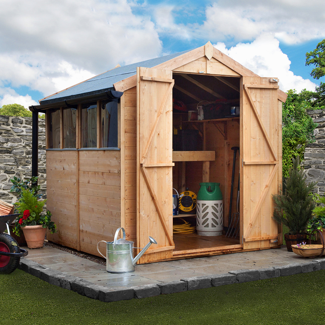 BillyOh 6 x 6 Windowed Tongue and Groove Apex Garden Shed 4000 Range