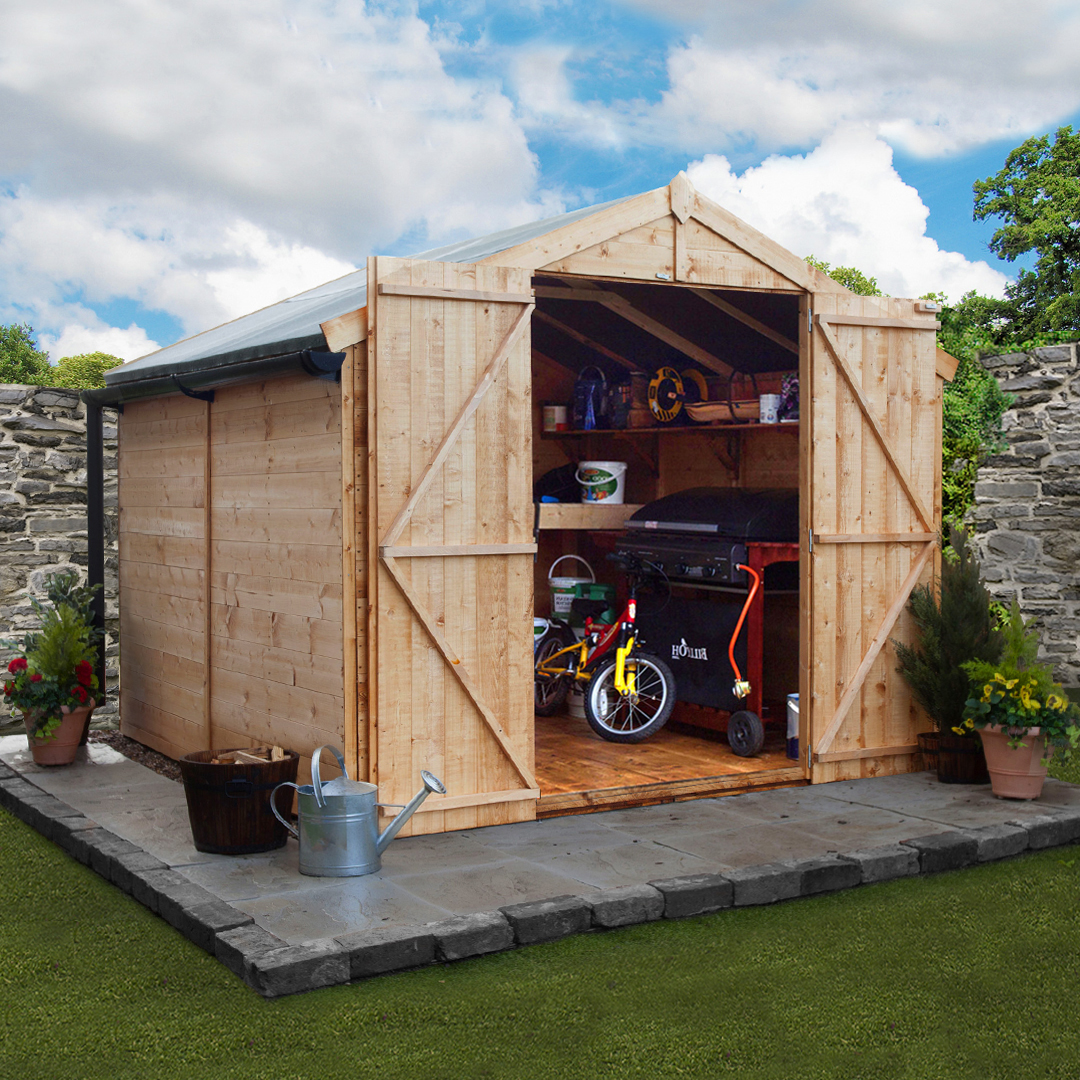 8 x 8 BillyOh 4000 Windowless Tongue and Groove Apex Garden Shed
