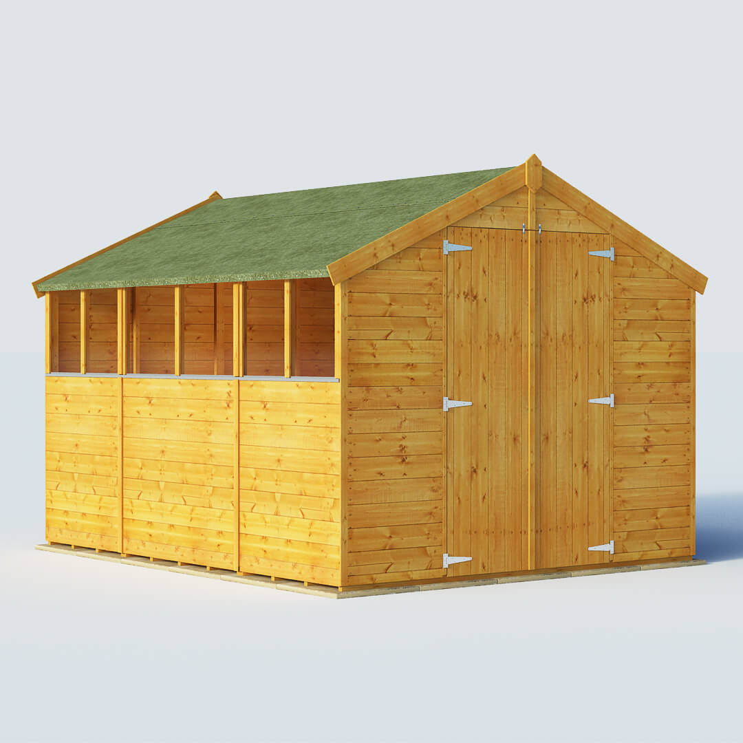 Sheds SALE - Deal on BillyOh 10 X 8 Windowed Tongue And Groove Apex