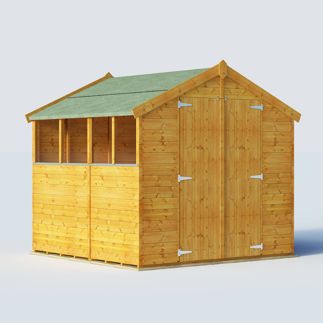 BillyOh 7 X 7 Windowed Tongue And Groove Apex Garden Shed
