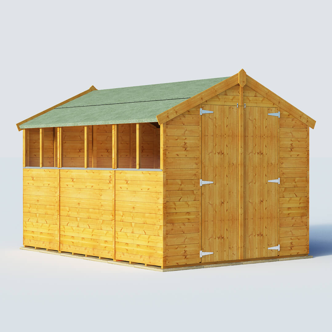 BillyOh 10 X 7 Windowed Tongue And Groove Apex Garden Shed