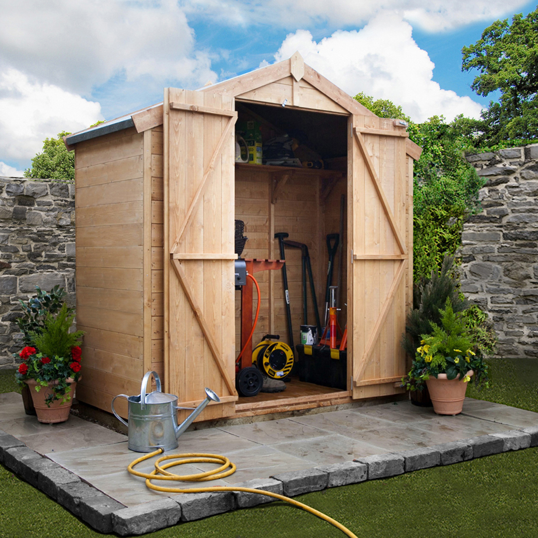BillyOh 3 x 7 Windowless Tongue and Groove Apex Garden Shed 4000 Range