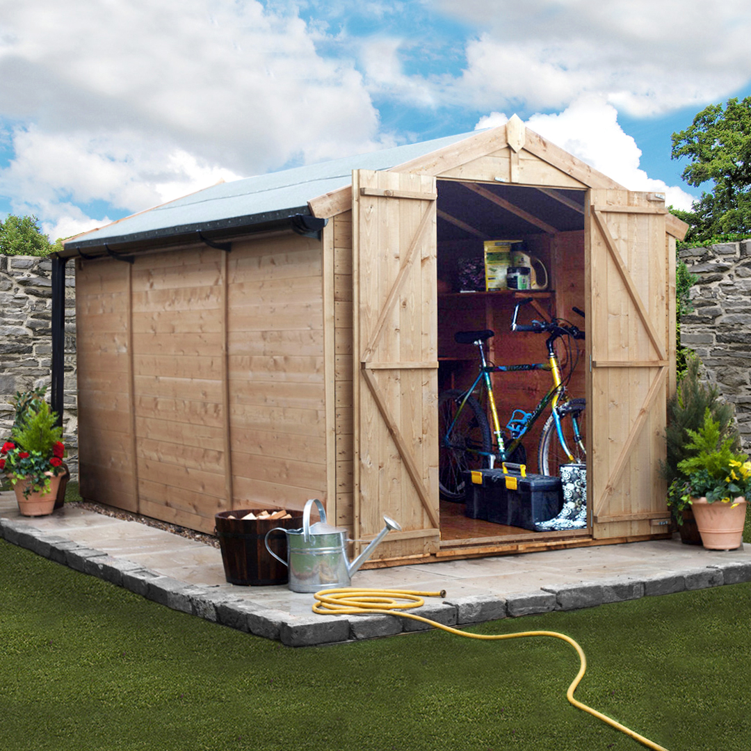 10 x 7 BillyOh 4000 Windowless Tongue and Groove Apex Garden Shed