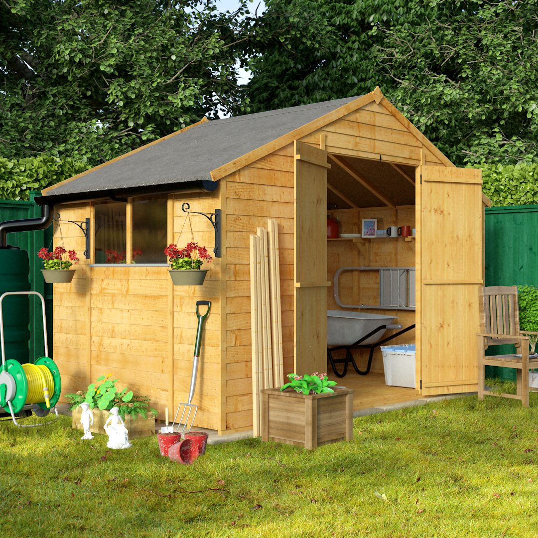 Wooden sheds for sale cheap timber garden shed for Cheap large garden sheds