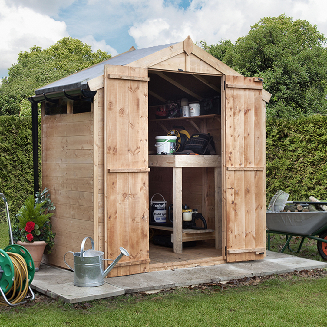 4 x 6 wooden sheds for Garden shed 6 x 4