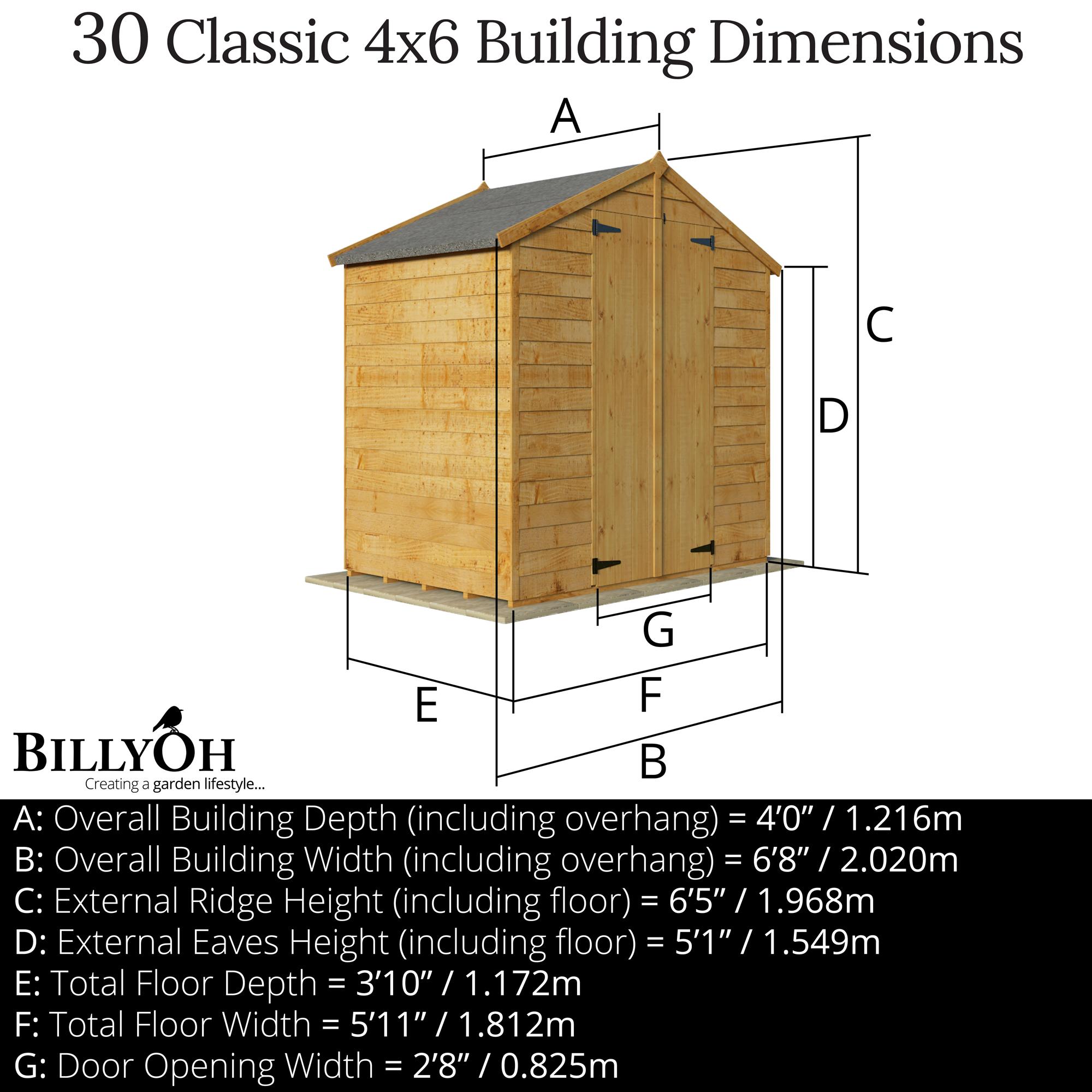4x6 - 30 OL Bike Store