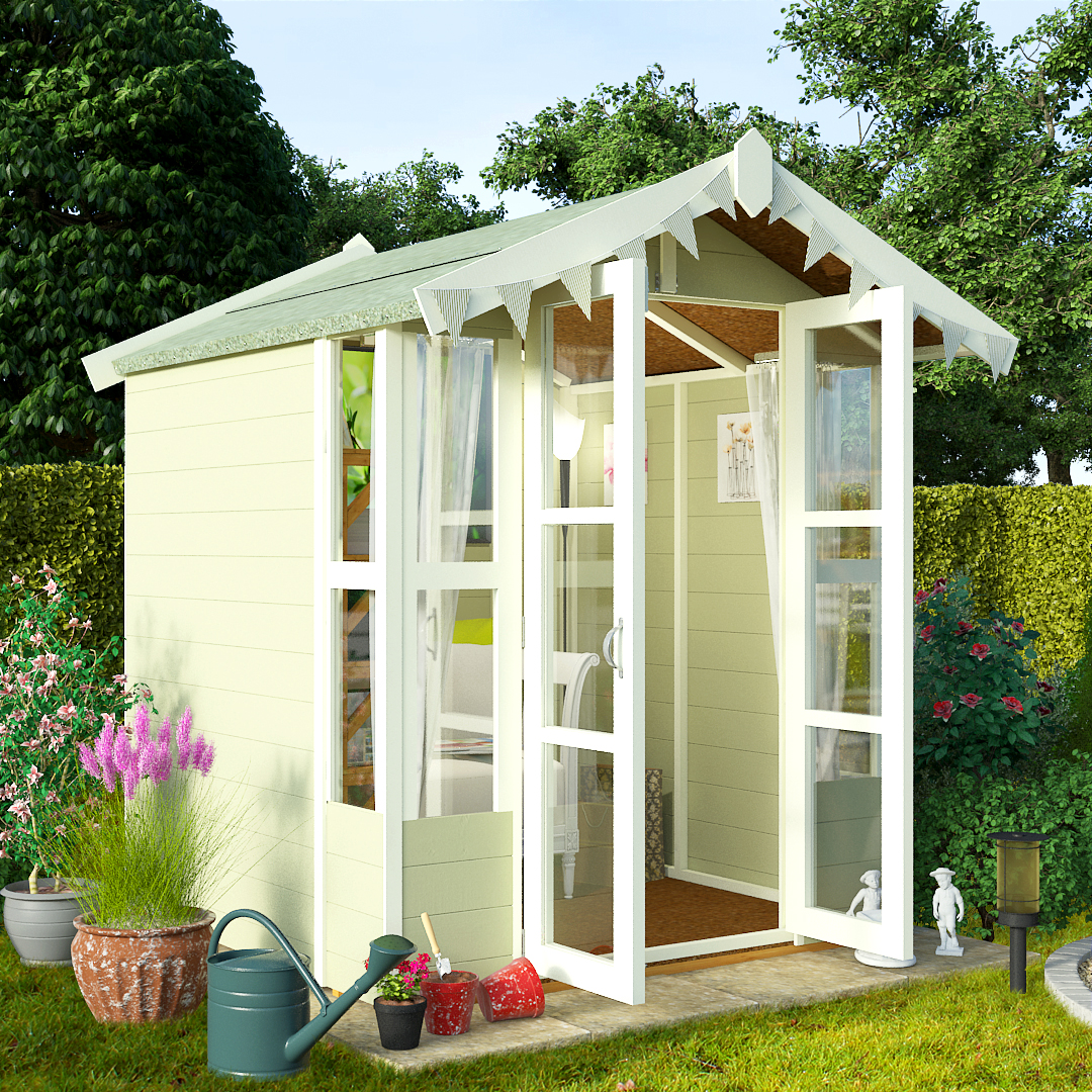 BillyOh 5 x 5 Lucia Tongue and Groove Garden Summerhouse 4000 Range