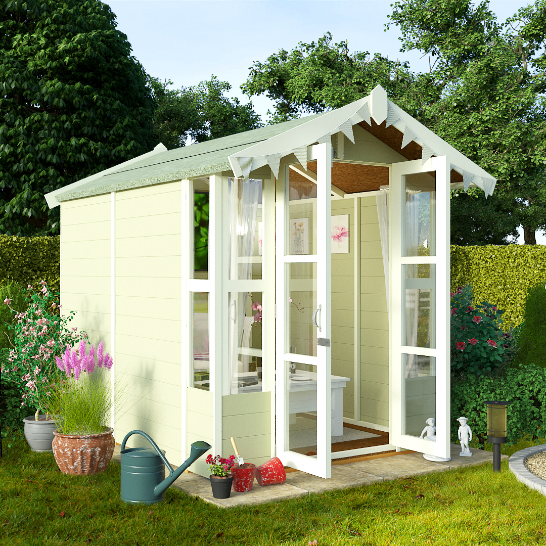 BillyOh 7 x 5 Lucia Tongue and Groove Garden Summerhouse 4000 Range