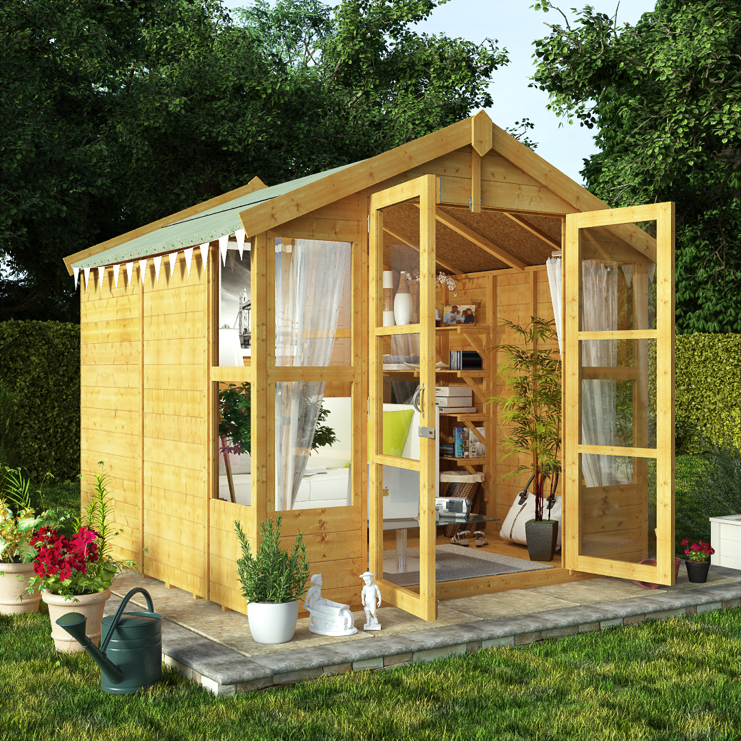 buy summerhouses great for all the family www. Black Bedroom Furniture Sets. Home Design Ideas