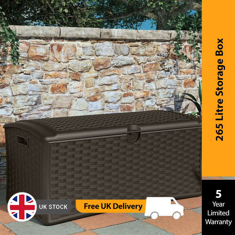 BillyOh Suncast Deck Box 265 litre - Deck Box 265 litre